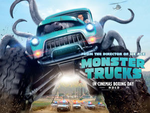 Win A Monster Trucks Movie Merchandise Goody Bag Primary