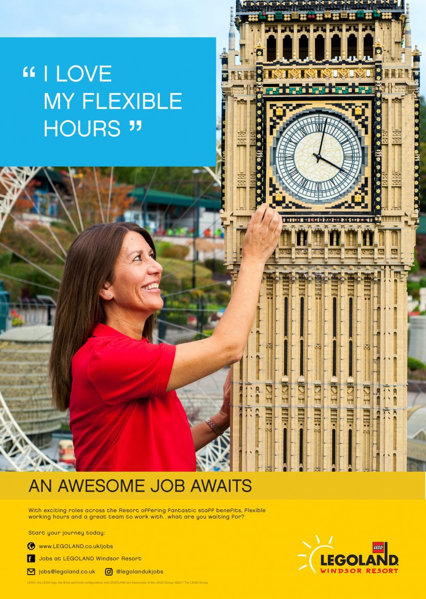 do you want a job offering flexibility fun primary times the legoland windsor resort is a fun destination for families and they rely on their teams to provide a