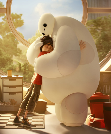 BAYMAX, STAR OF DISNEY'S BIG HERO 6 ANNOUNCED AS 'MOST HUGGABLE CHARACTER OF 2015' BY NATIONAL ...