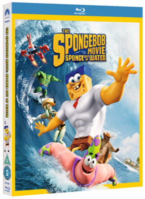 Sponge out of water dvd release date