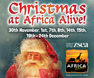 Advert: https://www.africa-alive.co.uk/visit-the-park/events/