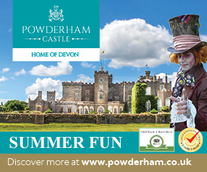 Advert: http://www.powderham.co.uk/visit/planning-your-visit/families-children