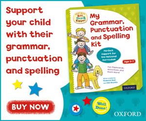 Advert: https://www.amazon.co.uk/d/cka/Oxford-Reading-Tree-Kipper-Grammar-Punctuation-Spelling/0192736825/?_encoding=UTF8&camp=1634&creative=6738&keywords=spelling%20biff%20chip%20and%20kippet&linkCode=ur2&qi