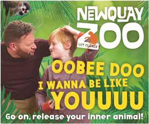 Advert: https://www.newquayzoo.org.uk/