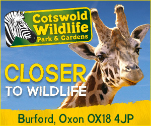 Advert: http://www.cotswoldwildlifepark.co.uk/
