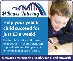 Advert: http://www.mbowertutoring.co.uk/year-6-and-onwards/