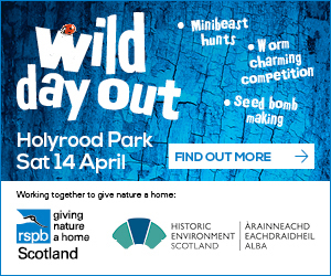 Advert: http://www.rspb.org.uk/wilddayout