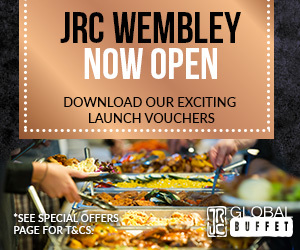 Advert: http://www.jrc-globalbuffet.com/restaurants/wembley/