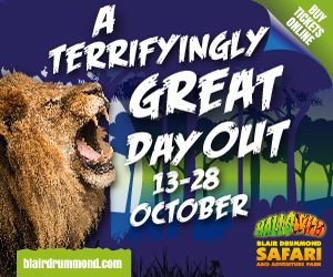 Advert: https://www.blairdrummond.com/events/hallowild-blair-drummond-safari-park
