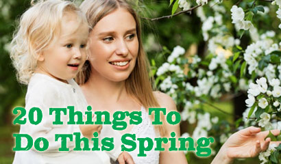 Primary Times takes a look at the things to do this Spring