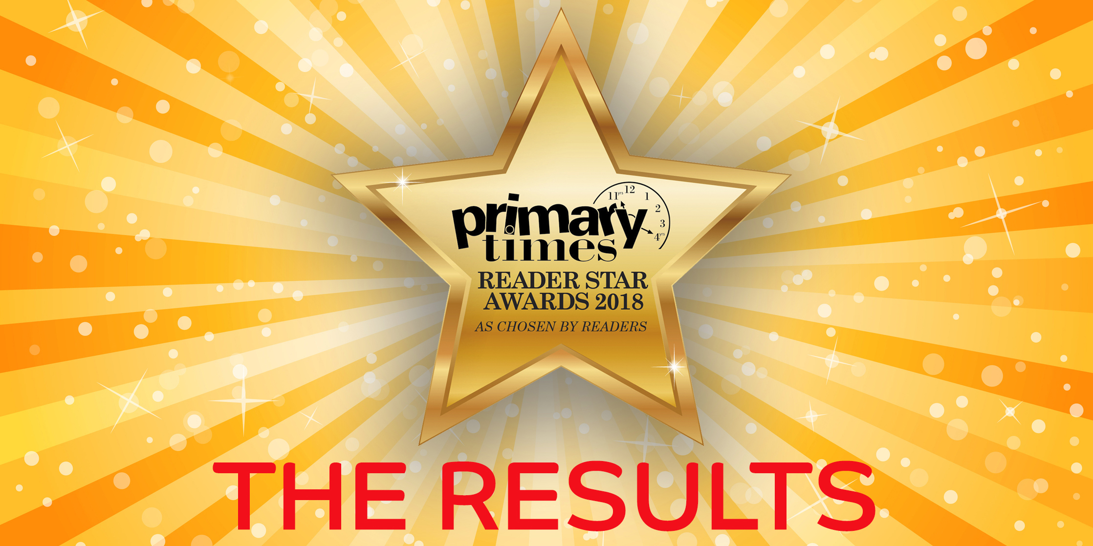 Winners of the Primary Times Devon Reader Star Awards 2018