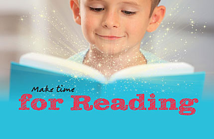 World Book Day: Make time for reading