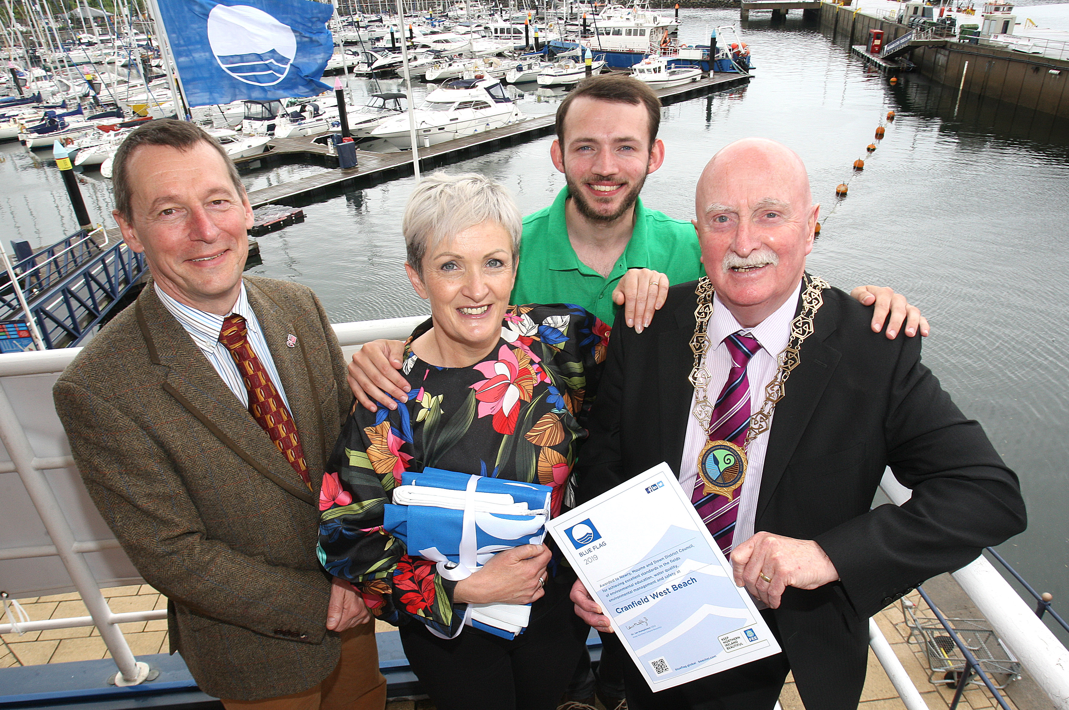 Blue Flag Celebration for Cranfield, Tyrella and Murlough